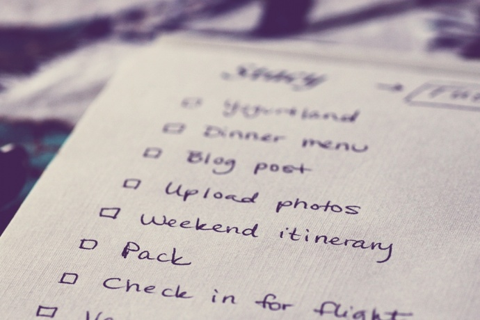 to do list before travelling crazzzy travel